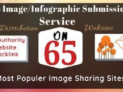 I will do infographic or image submission to 65 high pr phot